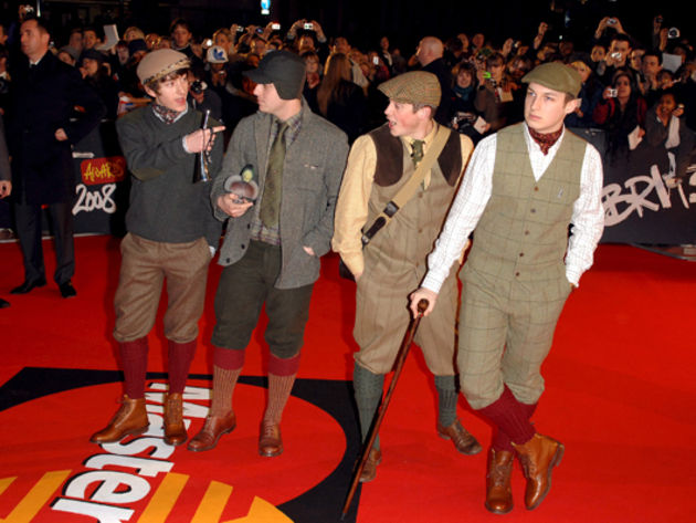 Feb 2008: Brit Awards