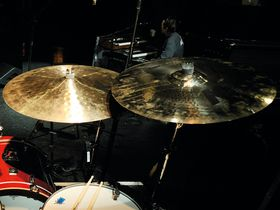 Band Of Horses' drum setup in pictures