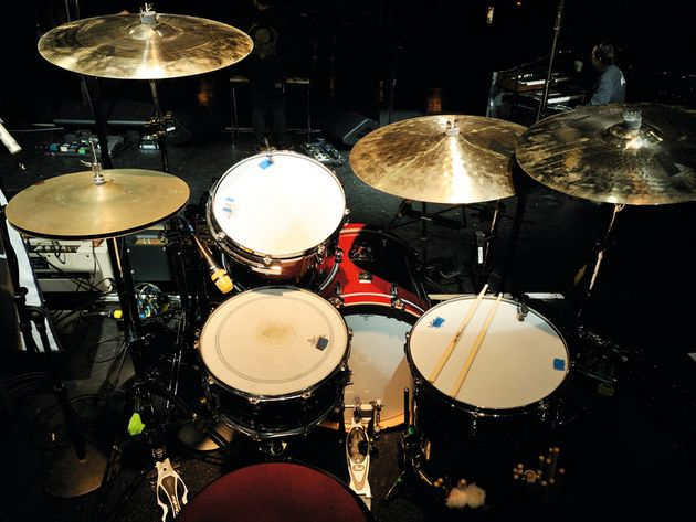Le kit de Creighton Barrett du groupe Band Of Horses