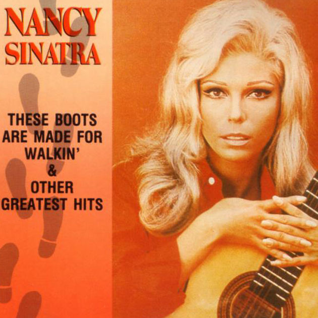 Nancy Sinatra - These Boots Are Made For Walkin' (1968)