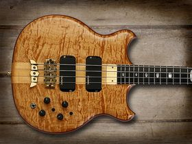 Cool and classic basses: Alembic Stanley Clarke 'Small Standard' Bass