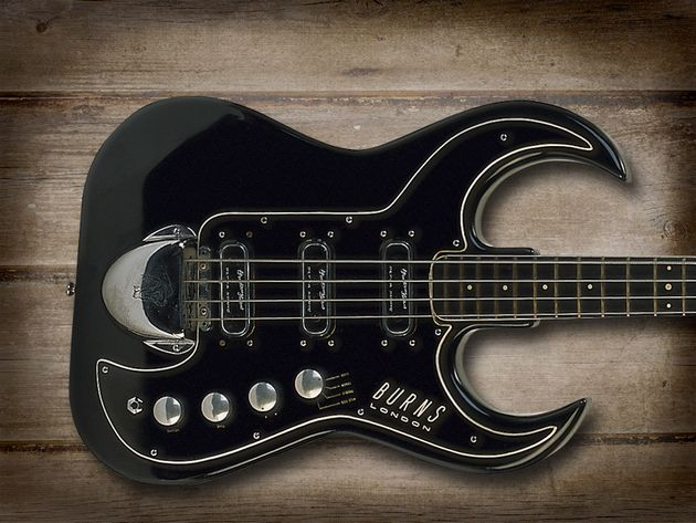 Burns Black Bison Bass