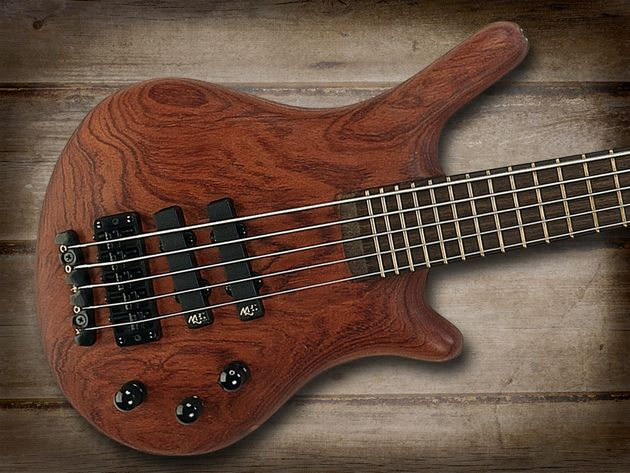 Warwick Thumb five-string bass, first produced in the 1980s