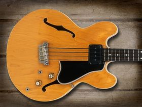 Cool and classic basses: Epiphone Rivoli