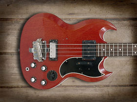 Cool and classic basses: Gibson EB-3 Bass
