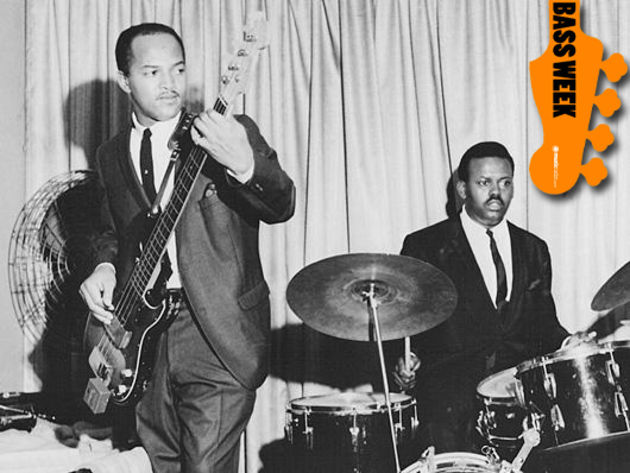 Bass Legends: Motown session giant James Jamerson