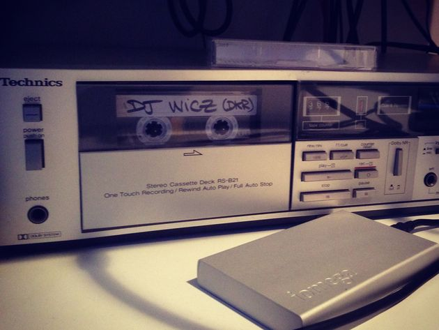 Technics tape deck
