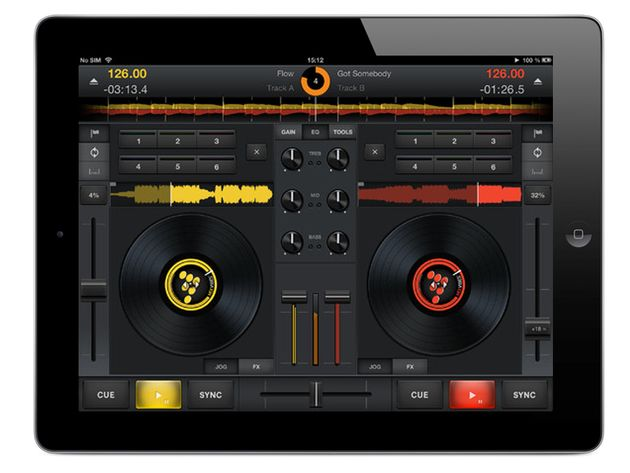 MixVibes Cross DJ/Cross DJ for iPhone, £6.99/$9.99 // free