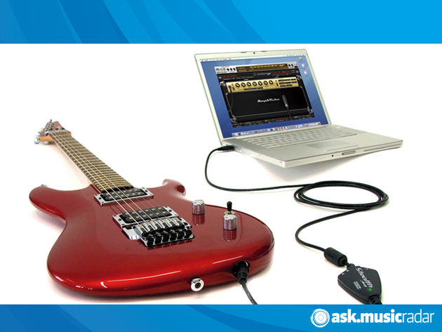 Plug a guitar into a laptop and, with the right software, you can create pretty much any tone you like.