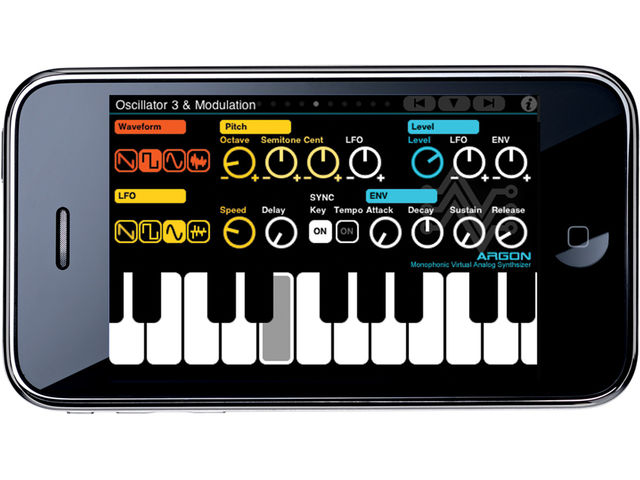 Will you soon be able to play iOS synth apps such as Argon using your USB MIDI keyboard?