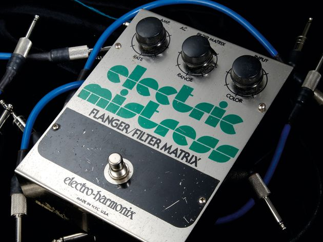 Electro-Harmonix Electric Mistress Flanger and Filter Matrix