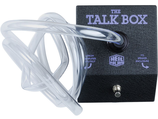 The talkbox is one of those effects that you can't get any other way