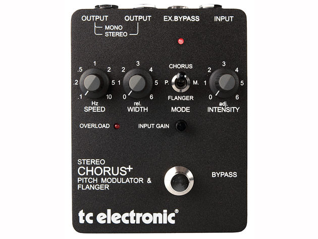 TC Electronic Stereo Chorus + Pitch Modulator & Flanger