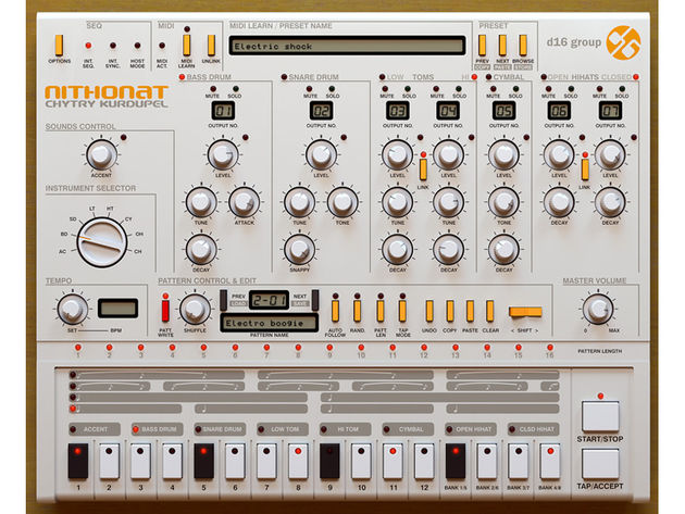 the 14 best vst plugin drum machines in the world today d16 nithonat tech news musicradar. Black Bedroom Furniture Sets. Home Design Ideas