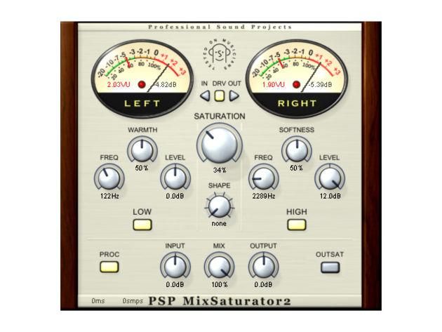 PSPaudioware MixSaturator