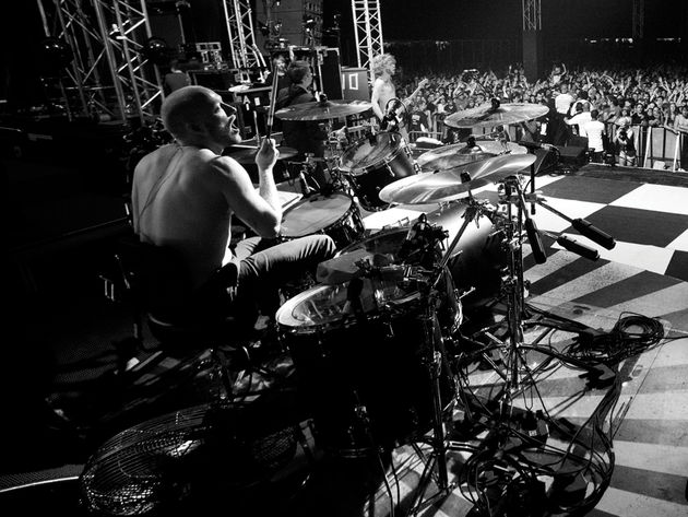 Ben Johnston's Biffy Clyro drum setup