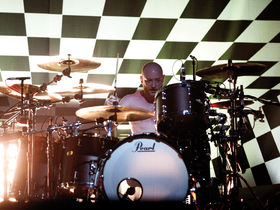 Ben Johnston's Biffy Clyro drum setup in pictures