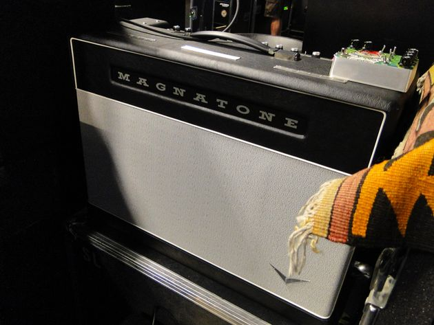 A Magnatone 50-watt two-channel prototype
