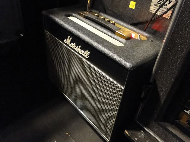 A Marshall Class 5 five-watt combo used by Elwood to monitor Billy's signal