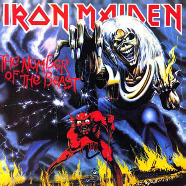 Iron Maiden - The Number Of The Beast (1982)