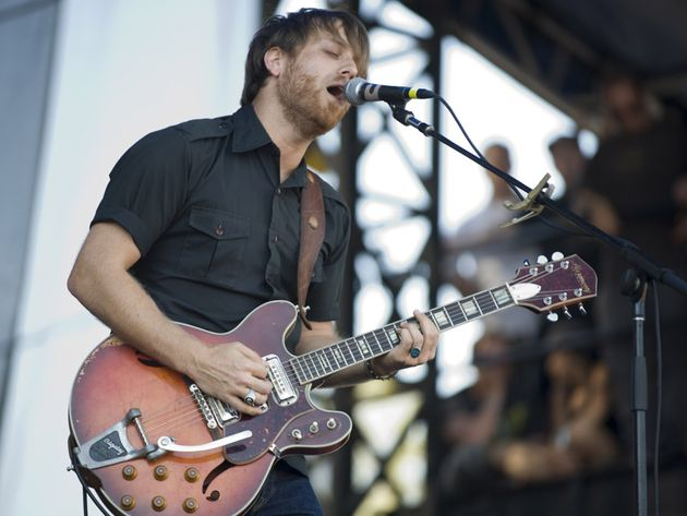 Guitarist Dan Auerbach on stage at Austin City Limits