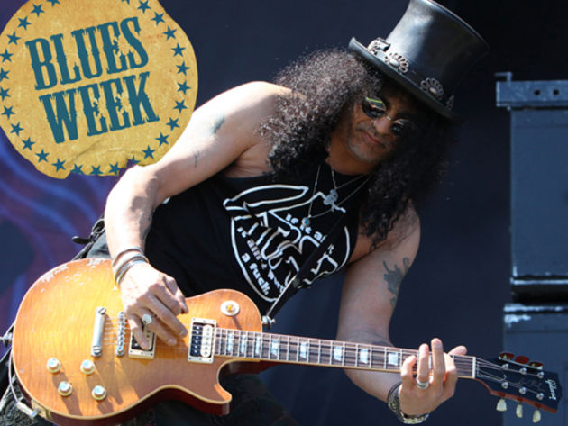Slash: my favourite blues guitarists of all time