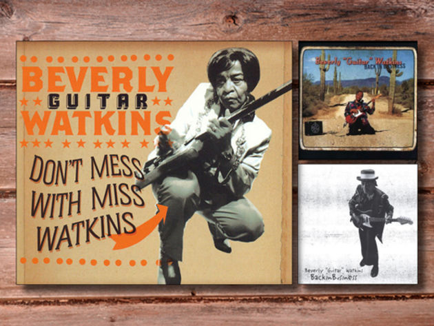 Beverly 'Guitar' Watkins
