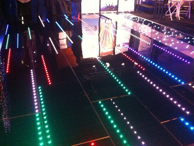 Light-up dancefloors
