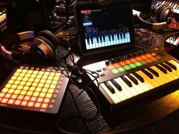 Novation Launchkey Mini and Launchpad Mini