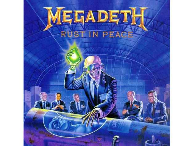 Megadeth – Rust In Peace (1990)