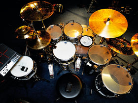 Drum kits of the pros: stars' live and studio drum setups in pictures