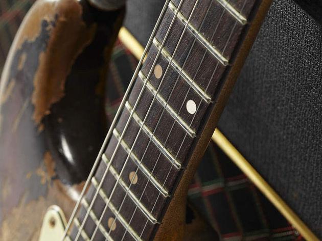 1961 Fender Stratocaster neck