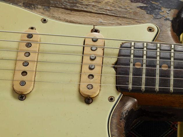 1961 Fender Stratocaster body