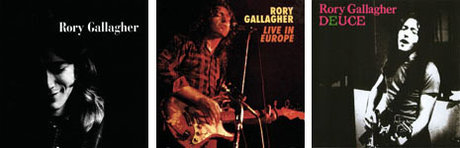 rory gallagher album sleeves