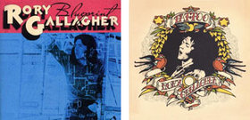 Rory gallagher blueprint and tattoo album covers