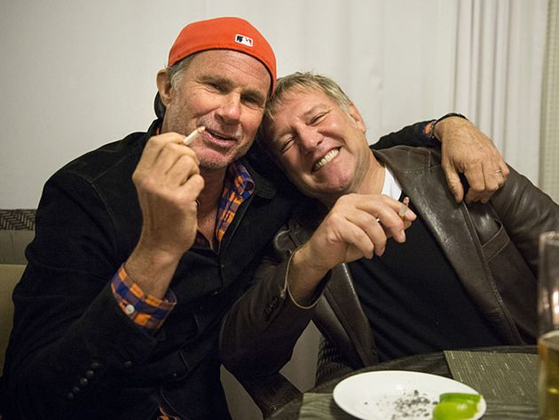 In conversation: Chad Smith and Alex Lifeson - in pictures