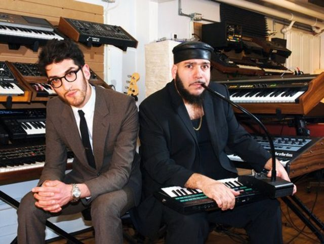 Chromeo's synth-stuffed studio