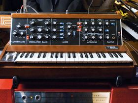 In pictures: Chromeo's synth-stuffed studio