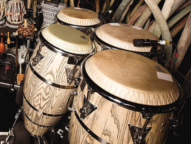 Congas, djembes and more