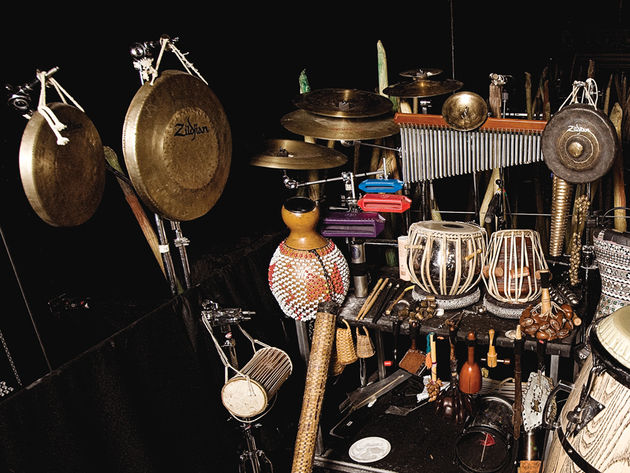 Cymbals, sticks and heads
