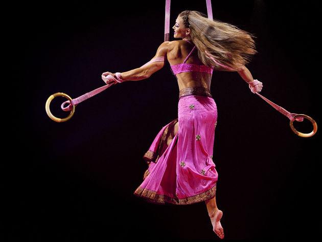 The Cirque Du Soleil gig