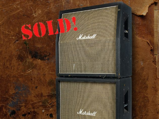 1970 Marshall 'basket weave' 4 x 12 cabinets