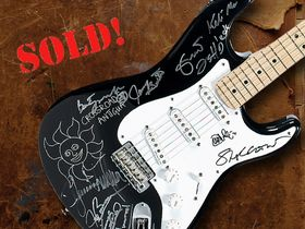 Eric Clapton's charity guitar auction raises $2.15 million