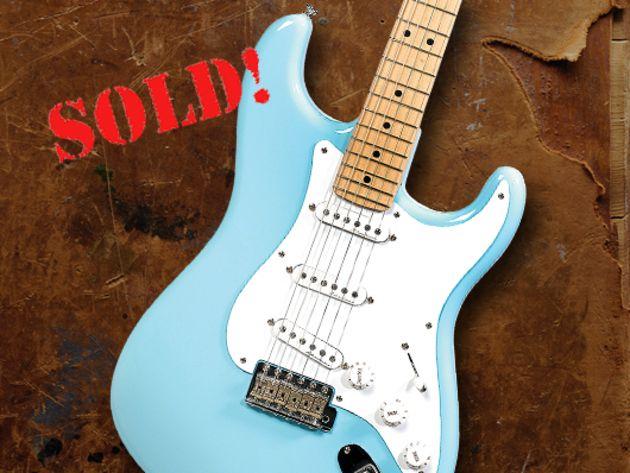 2008 Fender Eric Clapton Signature Stratocaster (Daphne Blue)