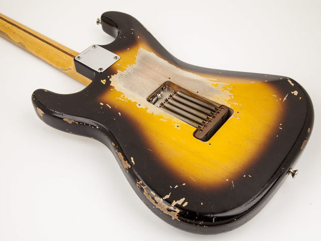 "Fender Eric Clapton ""Brownie"" Tribute Stratocaster - back"