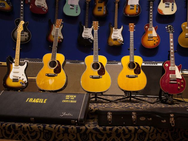 The Eric Clapton Crossroads Guitar Collection in pictures