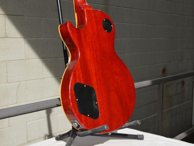 """Gibson Harrison-Clapton """"Lucy"""" Dos de la Les Paul"""