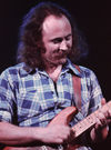 David Crosby on stage, mid-'70s