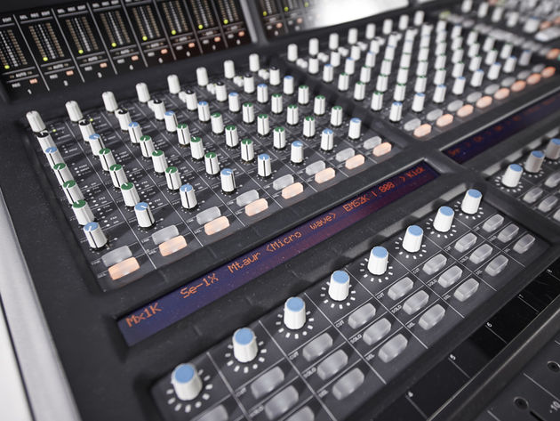 SSL Matrix console