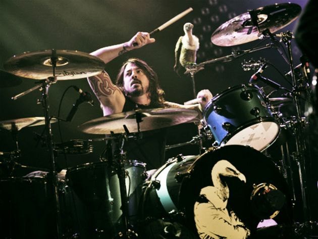 Them Crooked Vultures: Dave Grohl